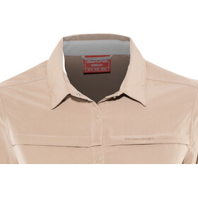 Craghoppers NosiLife Pro II Maglietta a maniche lunghe Donna beige
